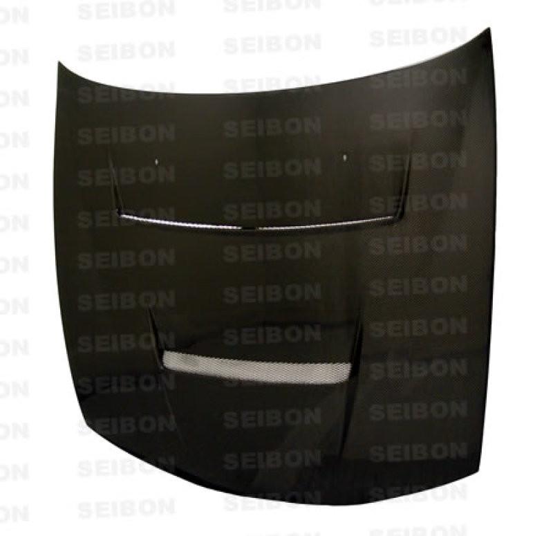 Seibon Carbon Fiber Hood 97-98 Nissan 240SX Coupe
