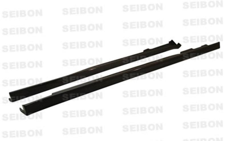 Seibon Carbon Fiber Side Skirts 96-00 Honda Civic Coupe/Hatchback