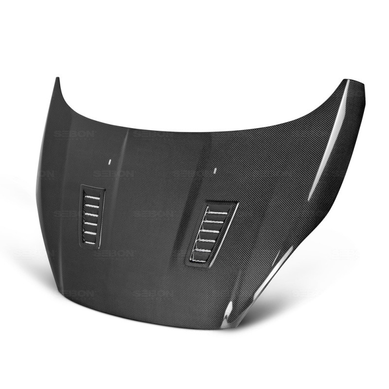 Seibon Carbon Fiber Hood 14-18 Ford Fiesta Sedan/Hatchback