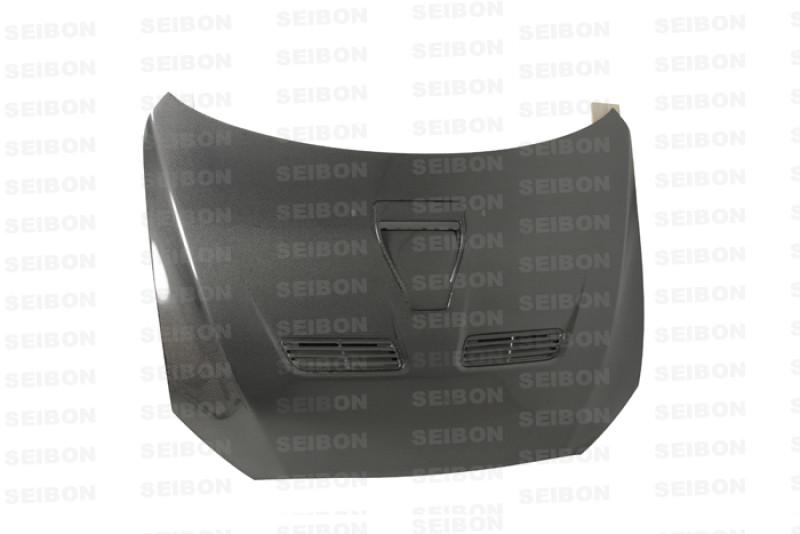 Seibon Carbon Fiber Hood|08-15 Mitsubishi Lancer Evo X|Sedan