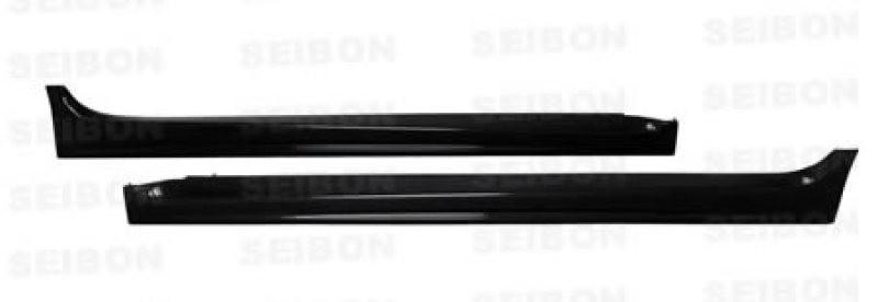 Seibon Carbon Fiber Side Skirts 08-15 Mitsubishi Lancer Evo X Sedan