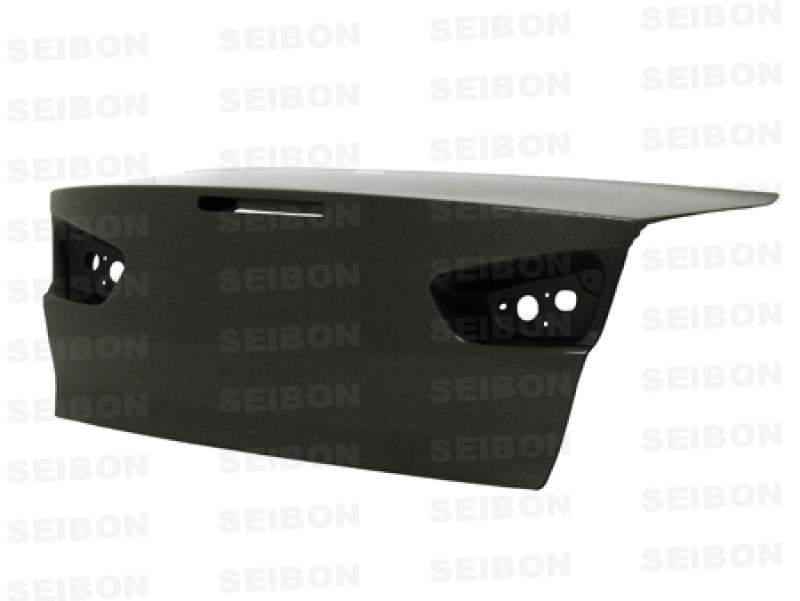 Seibon Carbon Fiber Trunk Lid 08-15 Mitsubishi Lancer Evo X Sedan