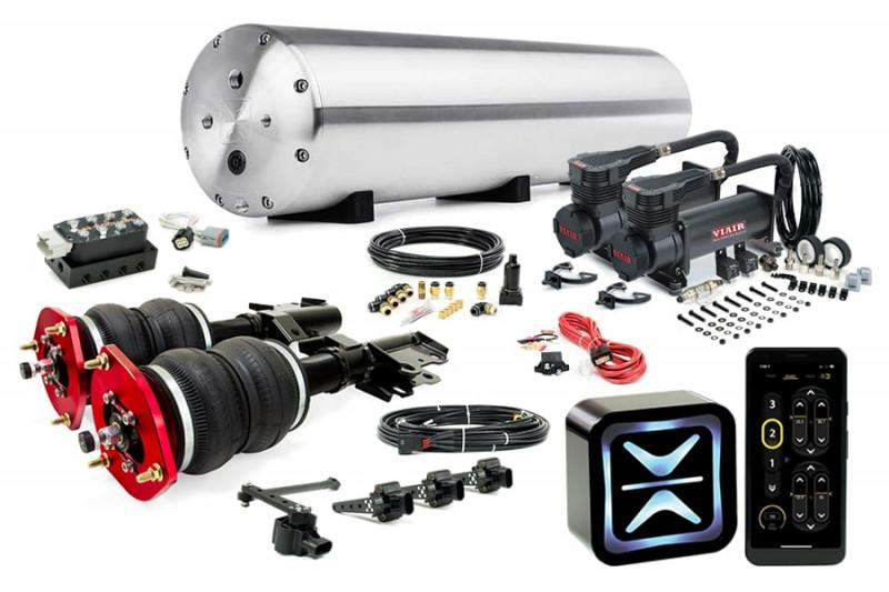 Air Suspension Kits AccuAir Suspension Starter Kit w/ Air Lift Performance Struts