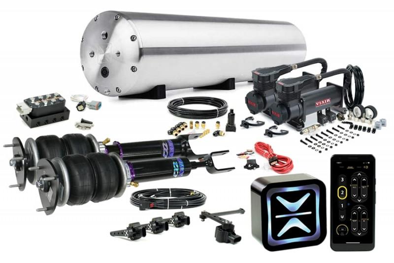 Air Suspension Kits AccuAir Suspension Starter Kit w/ D2 Racing Struts