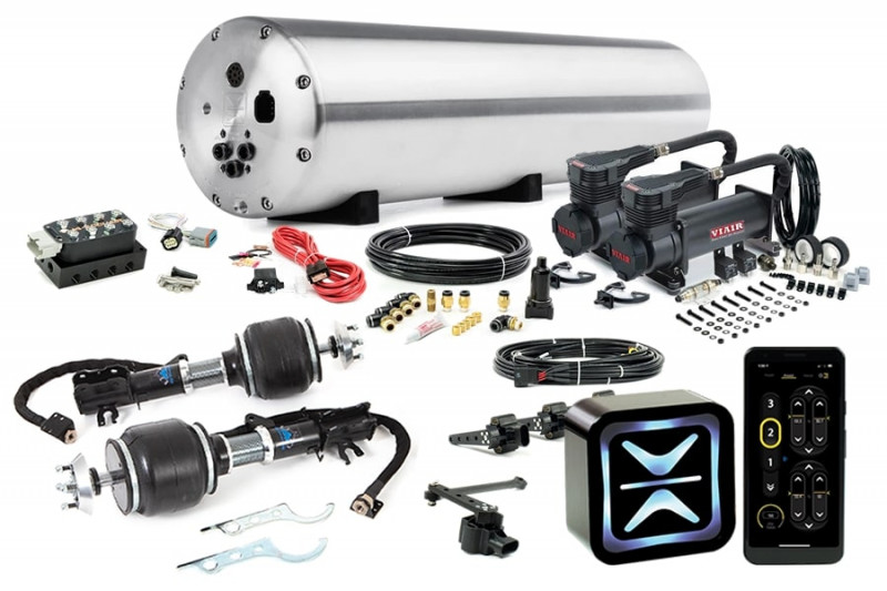 Air Suspension Kits AccuAir Suspension Premium Kit w/ Universal Air Suspension Struts