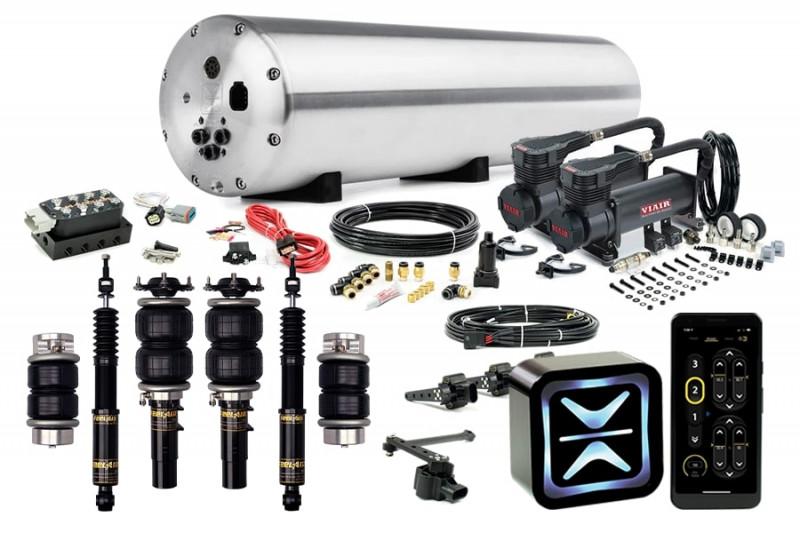 Air Suspension Kits AccuAir Suspension Premium Kit w/ Function & Form FeelAir Struts