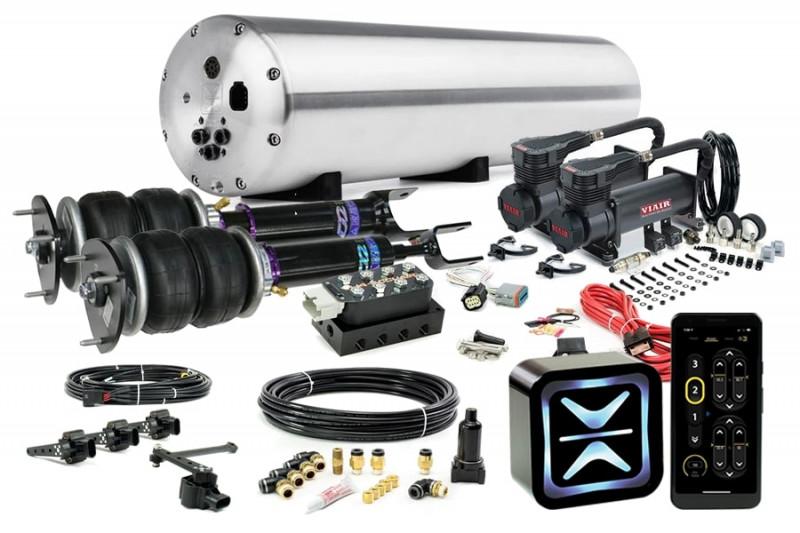 Air Suspension Kits AccuAir Suspension Premium Kit w/ D2 Racing Struts