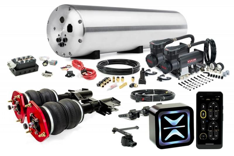 Air Suspension Kits AccuAir Suspension Premium Kit w/ Air Lift Performance Struts
