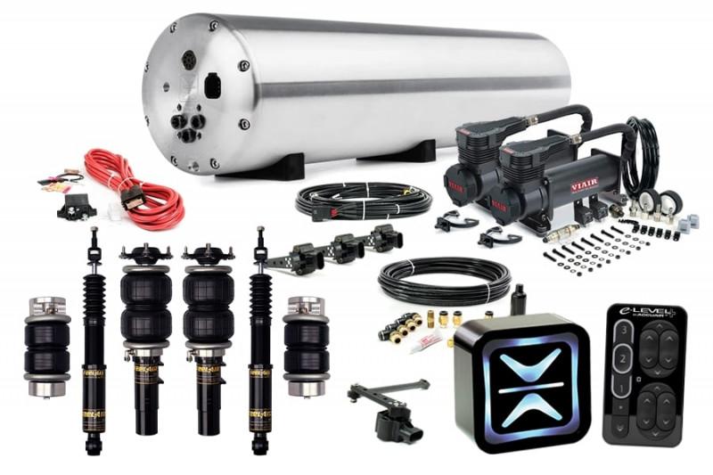 Air Suspension Kits AccuAir Suspension Ultimate Kit w/ Function & Form FeelAir Struts