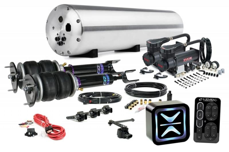 Air Suspension Kits AccuAir Suspension Ultimate Kit w/ D2 Racing Struts