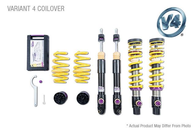 KW Suspension KW Coilover Kit V4