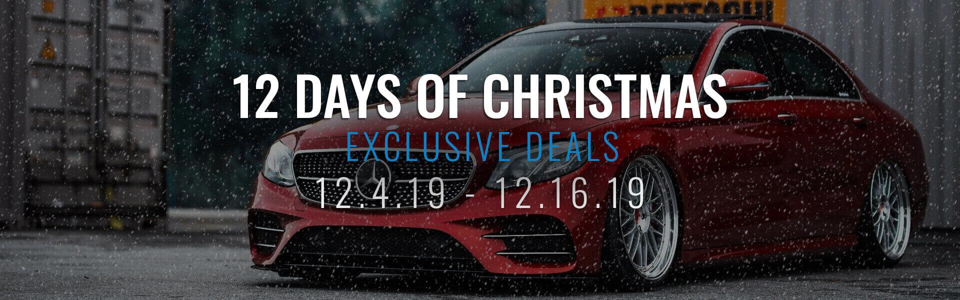 12 Days of Christmas Sale Banner