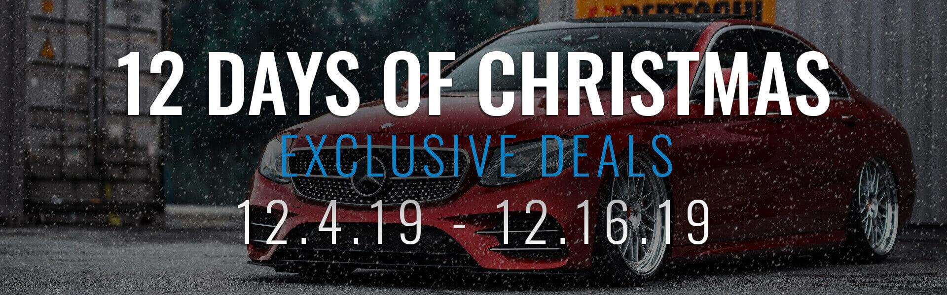 12 Days of Christmas Sale Banner Mobile