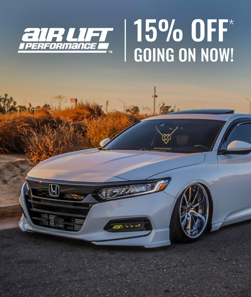 15% Off Air Lift Performance