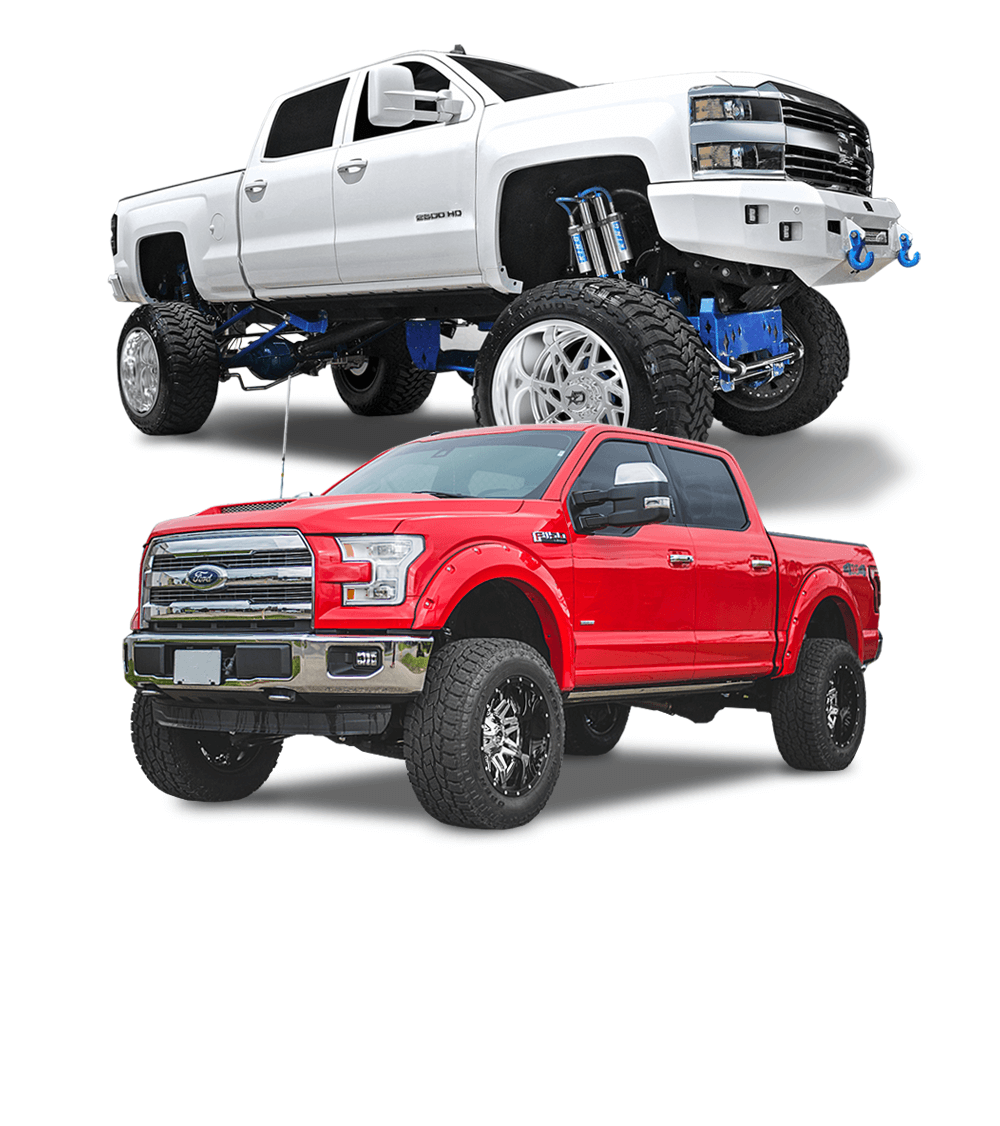Custom Offsets - Wheels, Tires, Lift Kits, Accessories