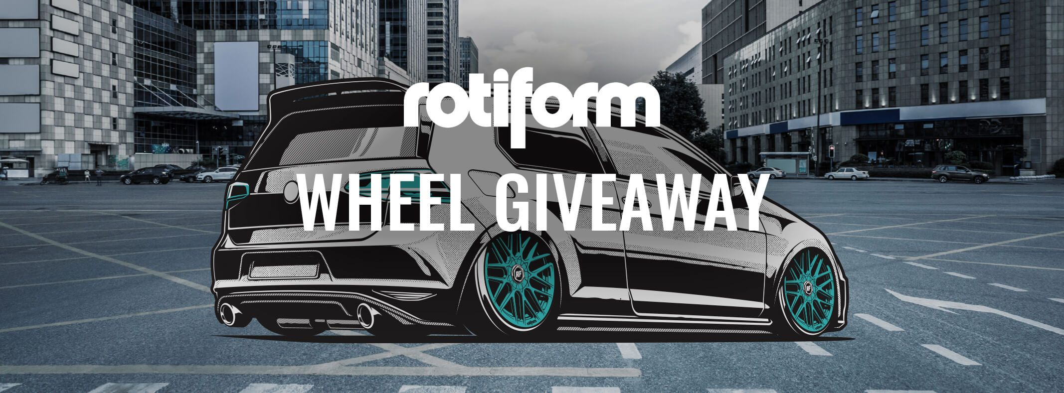 Fitment Industries & Rotiform Wheels Giveaway