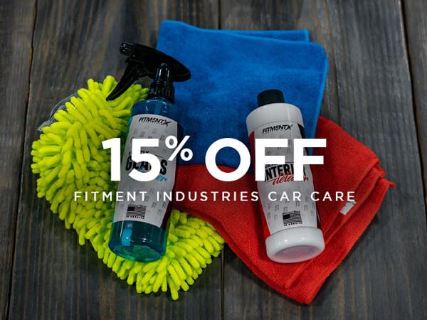 Car Care 15% Off