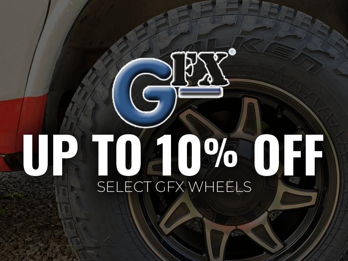 10% off G-FX Wheels