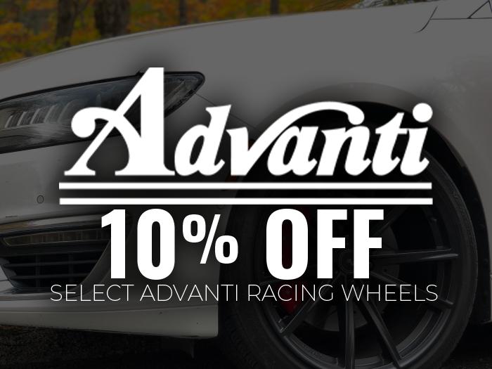 10% OFF Advanti Wheels