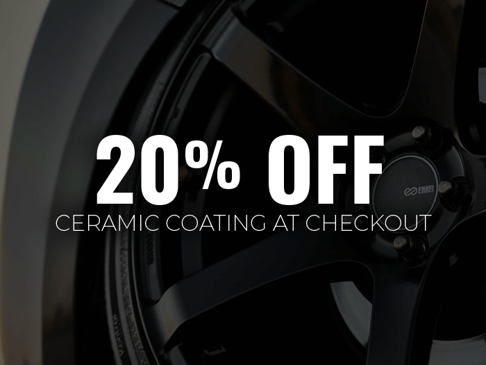20% OFF Ceramic Coating