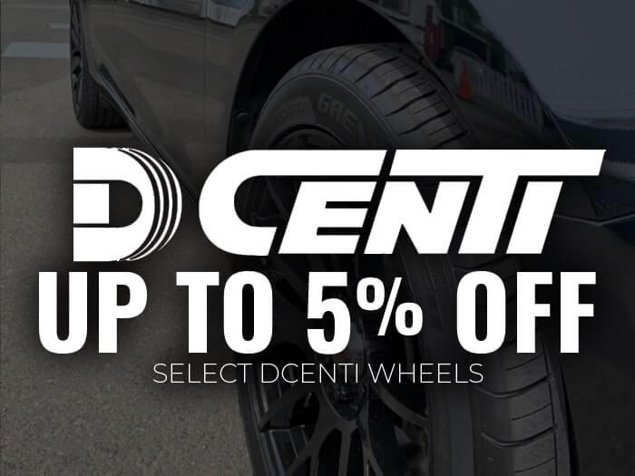 5% Off Dcenti Wheels