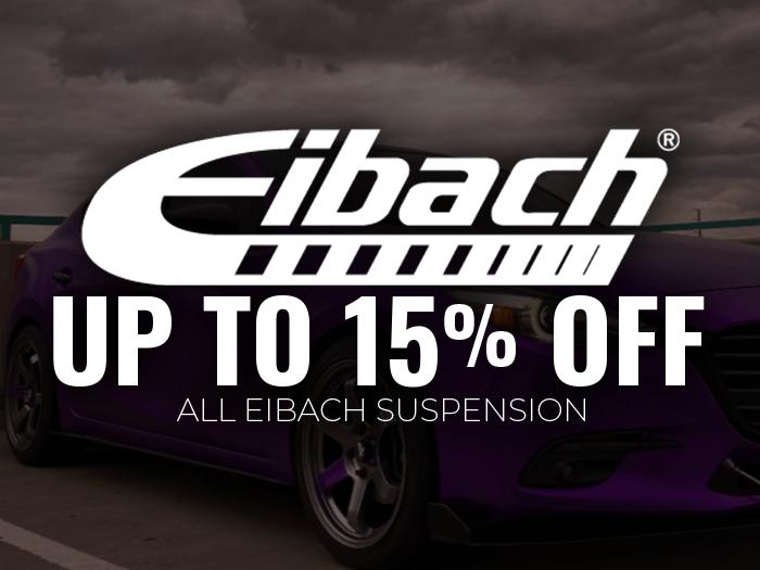 15% Off Eibach