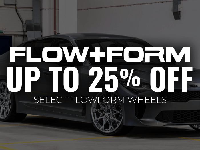 25% off FlowForm Wheels