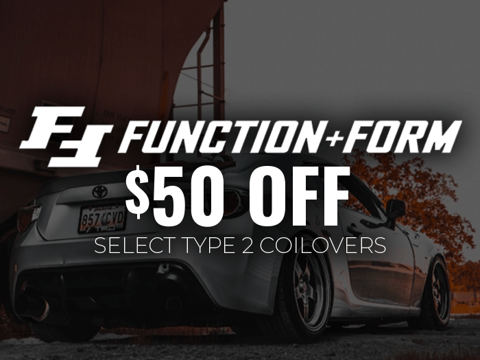 $50 Off Function + Form