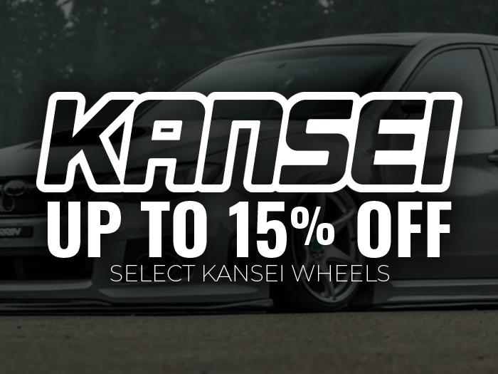 15% off Kansei Wheels