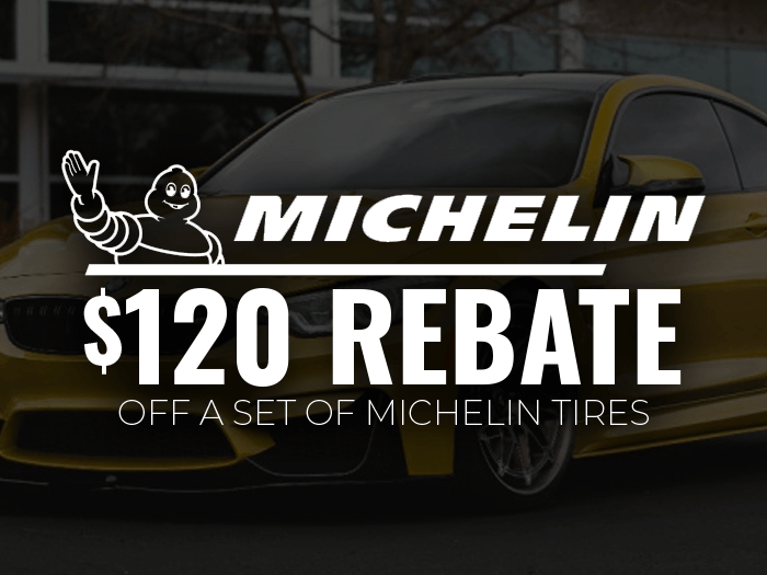 Save $120 on Michelin Tires!