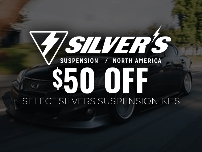 $50 Off Silvers Suspension Kits