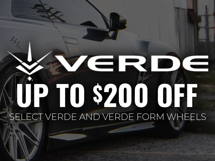 $200 Off Verde Wheels