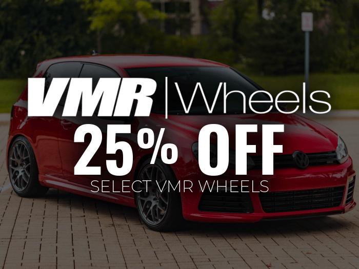 VMR Wheels 25% Off