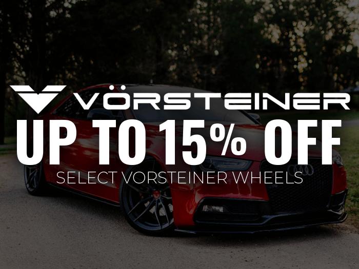 15% Off Vorsteiner Wheels