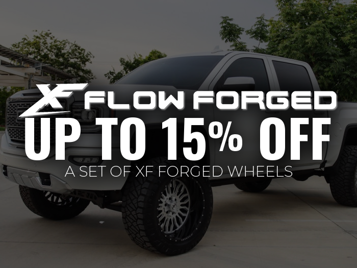 15% off XF Forged Wheels
