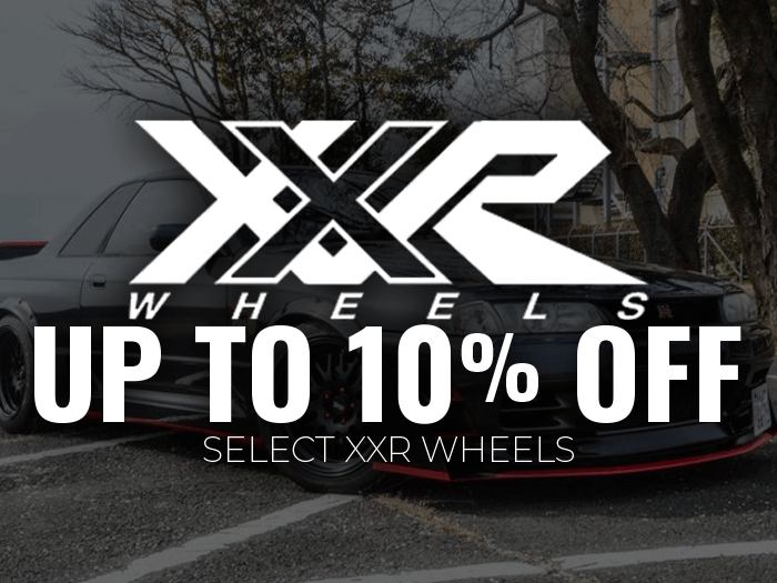 XXR Wheels 10% Off