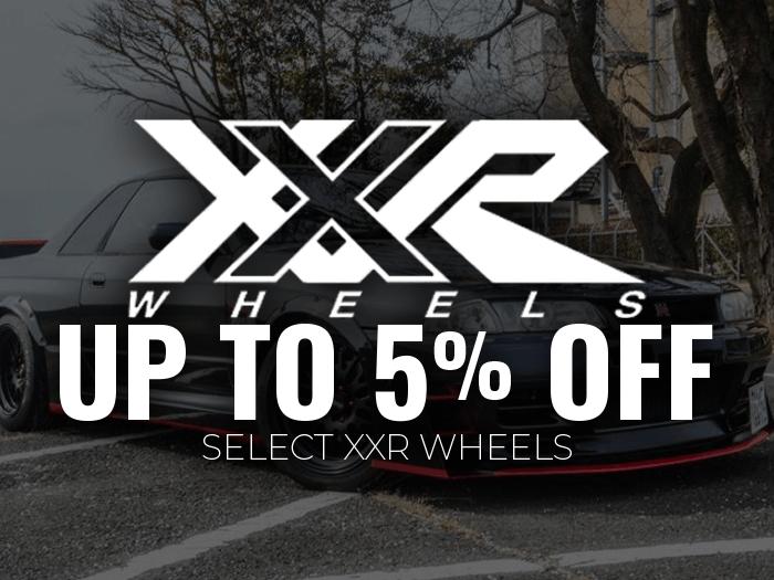 XXR Wheels 5% Off