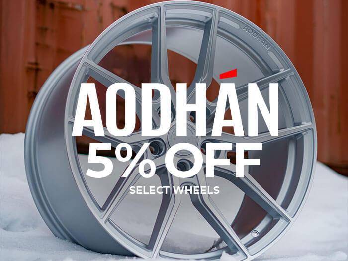 Aodhan Wheels 5% Off