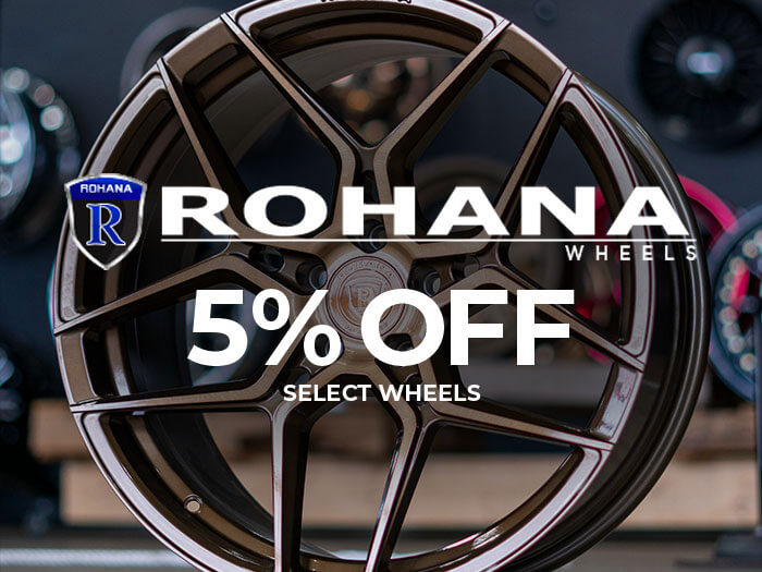 Rohana Wheels 5% Off