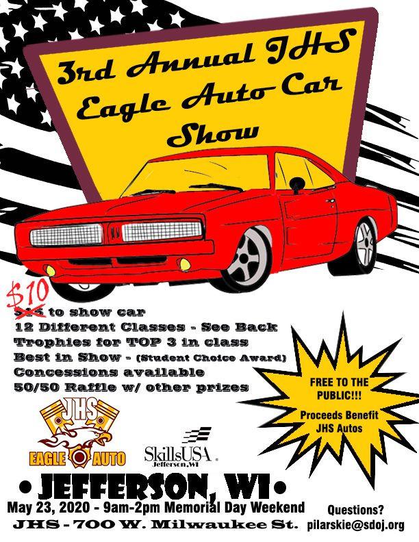 3rd Annual Jhs Eagle Auto Car Show