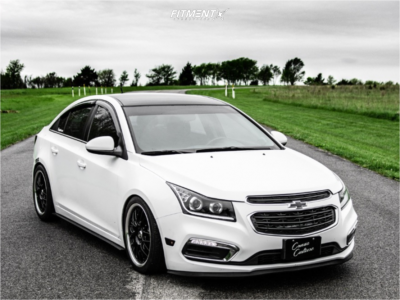 2015 Chevrolet Cruze - 18x7.5 42mm - Enkei Lusso - Coilovers - 225/40R18