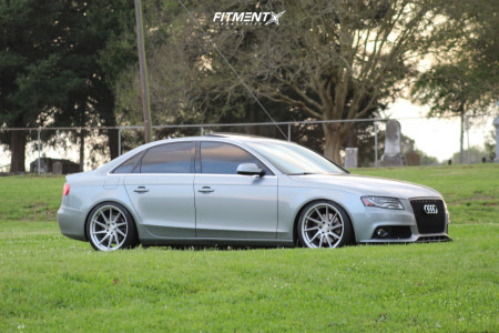2010 Audi A4 Quattro - 19x9.5 40mm - Avant Garde M621 - Coilovers - 255/35R19