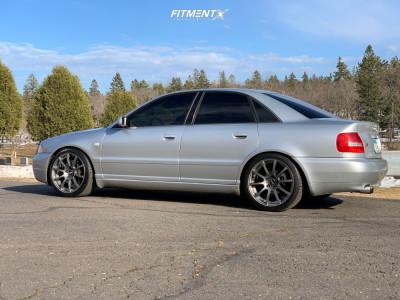 2000 Audi S4 - 18x8.5 35mm - VMR V701 - Coilovers - 225/40R18