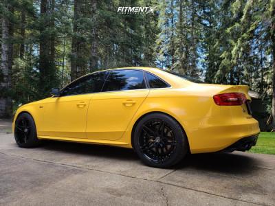 2013 Audi S4 - 19x9.5 38mm - Marquee Luxury M3259 - Stock Suspension - 265/35R19