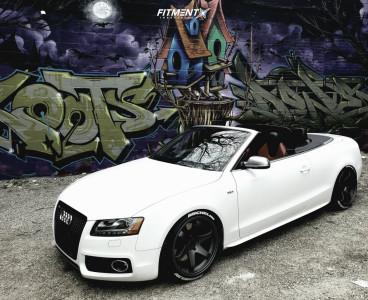 2011 Audi S5 - 19x10.5 35mm - Fast Wheels Hayaku - Coilovers - 255/35R19
