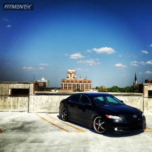 2007 Toyota Camry - 20x8.5 35mm - Rennen International RS1 - Lowered Adj Coil Overs - 235/35R20