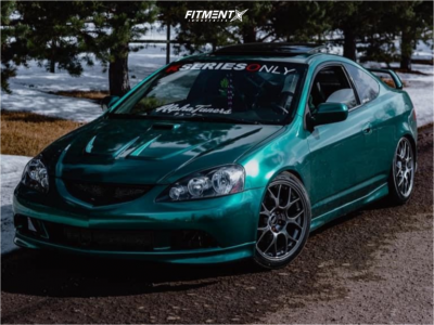 2006 Acura RSX - 18x8.5 38mm - BBS Mr - Coilovers - 225/40R18