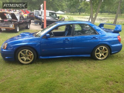 2005 Subaru Impreza - 17x8 48mm - Rota Boost - Lowered Adj Coil Overs - 225/45R17