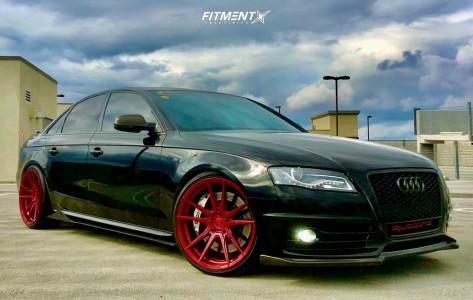 2012 Audi S4 - 20x10 35mm - Rohana Rf2 - Coilovers - 255/30R20