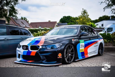 2012 BMW 320i - 18x8.5 30mm - Japan Racing Jr19 - Coilovers - 205/35R18